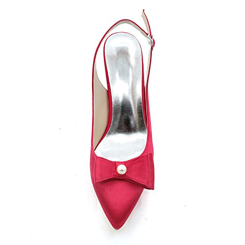 High L Toe Party Evening Summer Wedding Red Women Pointed Spring Skirt Fall amp; YC Heels AqBEwH1q