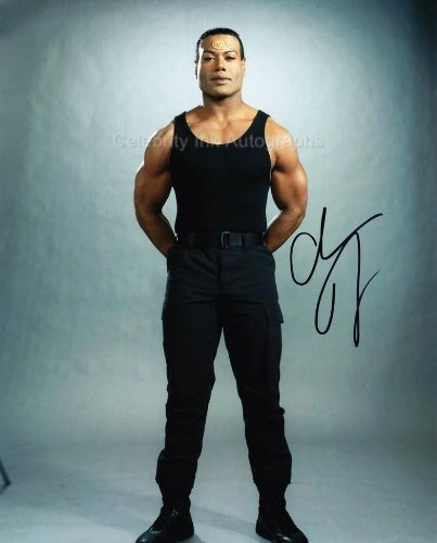 CHRIS JUDGE as Teal'c - Stargate SG-1 Genuine Autograph from Celebrity Ink