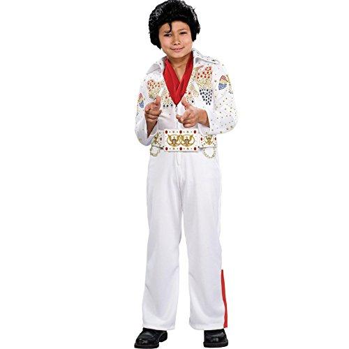 Rubie's Elvis Presley Deluxe Toddler Costume White]()