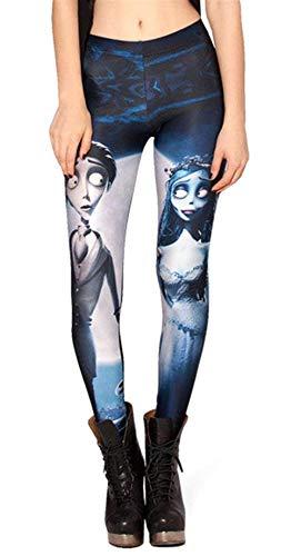 Pantalones Moda Verano Bleached Medias De Basic Jegging Las Mujeres Leggings 57HZAqx7w