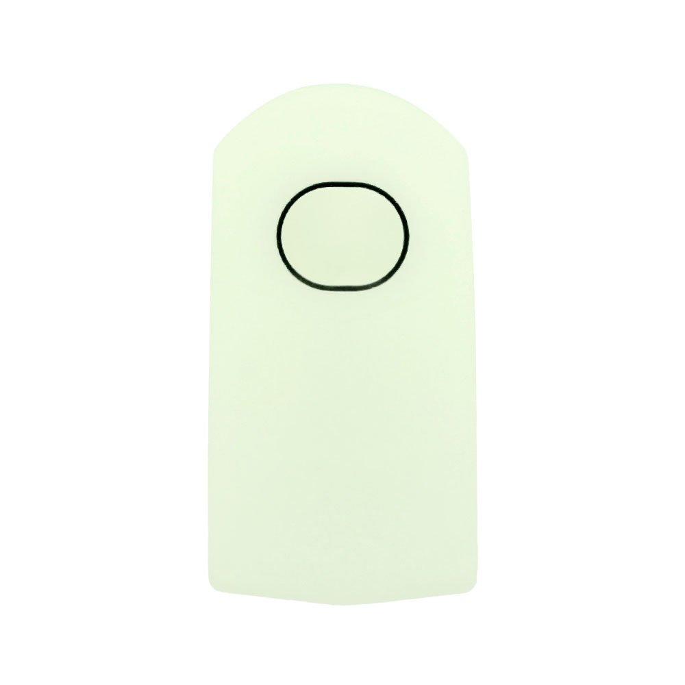 SEGADEN Silicone Cover Protector Case Skin Jacket fit for MAZDA 4 Button Flip Remote Key Fob CV2534 White