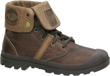PALLADIUM PALLABROUSE Baggy Leather Men Boots 02451-298 brown marrón
