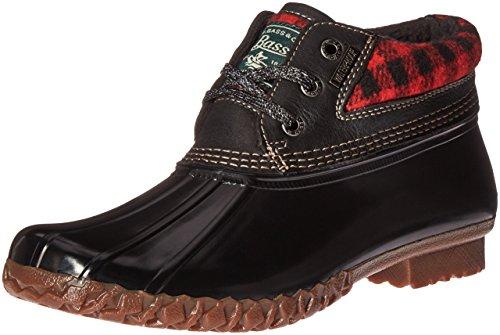 Dorothy Red Bass amp; Co Rain Plaid G Black Women's Black H Boot wBF1nqX