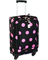 Jenni Chan Dots 360 Quattro 21 Inch Upright Spinner Carry On Luggage