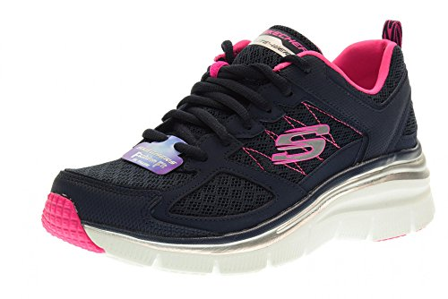 Pictures of Skechers Womens Fashion Fit - Not Afraid Blu 1