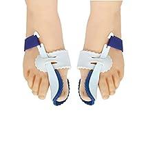 1 Pair Big Toe Bunion Straighteners Night Splint Hallux Valgus Pad CorrectorsPain Relief