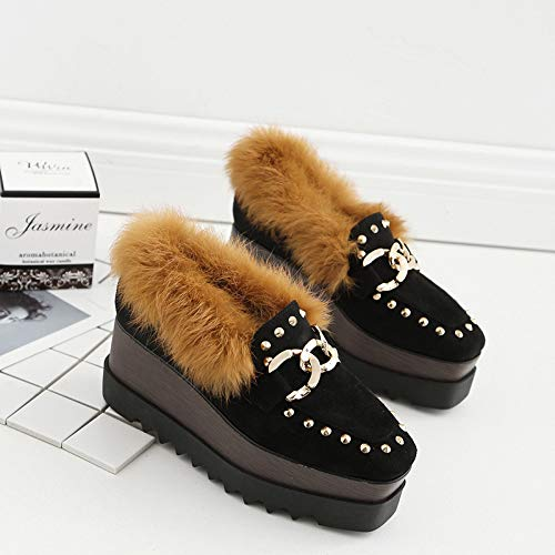 Heels High HRCxue Maomao Einzelschuhe Schuhe Kuchen Schwamm