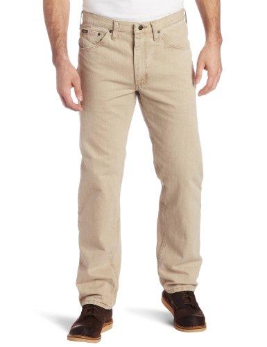 - Lee Men's Regular Fit Straight Leg Jean, Dune, 30W x 30L
