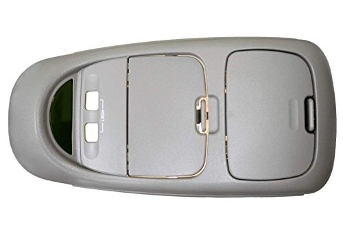 PT Auto Warehouse FO-8523G - Overhead Console Assembly, Flint Gray - without Moon Roof