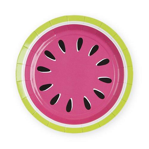 Cakewalk 6484 Watermelon Appetizer Disposable Plates, Pink]()