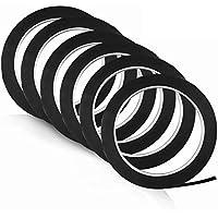 3mm Whiteboard Tape, Pyhot Black 216feet/66m Gridding Tape Graphic Chart Art Tape for Offices Whiteboard Marker…