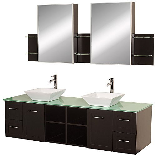 Wyndham Collection WCS007SH72ESGRD28WH Avara 72'' by Wyndham Collection (Image #1)
