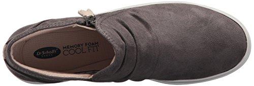 Dr. Dr. Scholl's Sko Kvinders Wander Boot Ankle Bootie Grå Microfiber Scholl Sko Kvinders Vandre Støvle Ankel Bootie Grå Microfiber juDU7