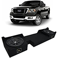 2004-2008 Ford F-150 Ext Super Cab Truck Kicker Comp C10 Dual 10 Sub Box Enclosure - Final 2 Ohm