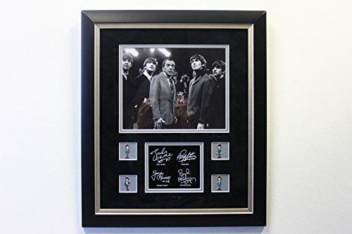 Legends of Art The Beatles and Ed Sullivan Custom Framed Photo