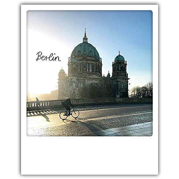 Berlin polacards de pickmotion – POLAROID Tarjetas postales estilo retro de alta calidad – Diseño: Berliner Dom: Amazon.es: Hogar