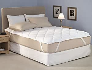 Ibed Home Mattress Protector - King Size, 200X200cm, White