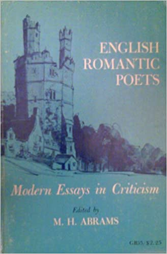 English romantic poets modern essays criticism research papers on binge drinking