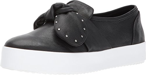 Rebecca Minkoff Women's Stacey Stud Bow Sneakers, Black, 6 B(M) US