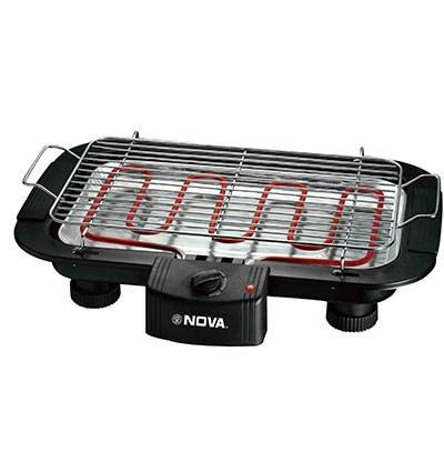 41db6a17d10 Buy NOVA. Bakelite Electric Barbecue Grill (Black) Online at Low Prices in  India - Amazon.in