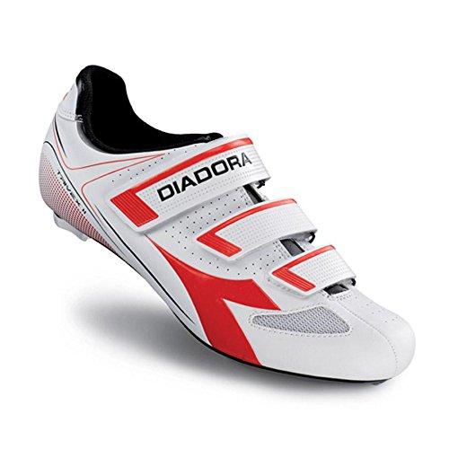 Carretera Unisex de Diadora Ciclismo Adulto Zapatillas Bianco II de Trivex qn6YZ