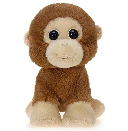 Amazon.com: Fiesta Toys Floppy Bean Bag Jungle Babies Animal Plush-7 ...