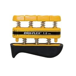 DSS CanDo Digi-Flex Hand Exercisers (Yellow)