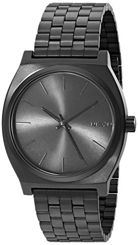 Nixon Men's A045-001 Stainless Steel Time Teller Watch - All Black
