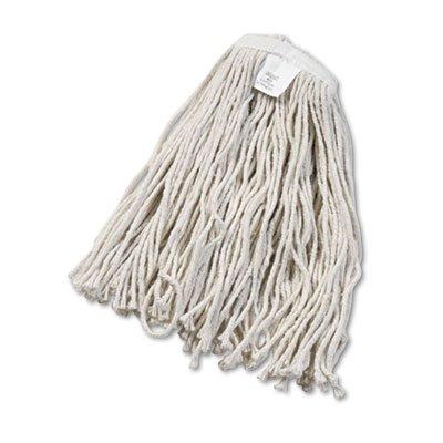 UNISAN Cut-End Wet Mop Head, Cotton, #20 Size, White (2020C)