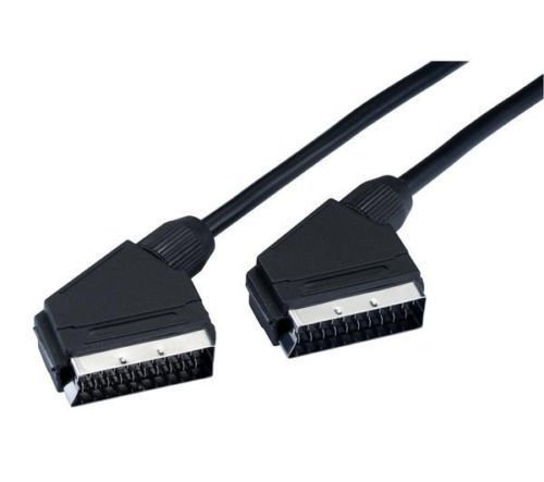4-FT Premium SCART Cable - Male To Male