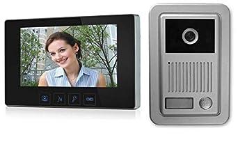 Video-Türsprechanlage für ein 1 Famillienhaus VD71W 4-Draht Sprechanlage Video