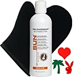 SUN Tan Overnight Instant-Tanning Lotion MEDIUM 8oz Review and Comparison