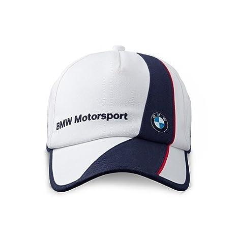 BMW Motorsport Gorra Motorsport blanco y azul: Amazon.es: Deportes y aire libre