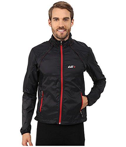(ルイガノ) Louis Garneau メンズサイクルジャケット Cabriolet Cycling Jacket Black/Red MD M [並行輸入品]   B0755Q92XJ