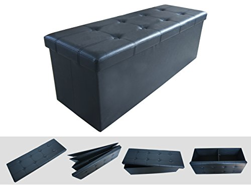 Todeco - Large Folding Storage Ottoman 43.3