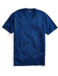 Men's Short-Sleeve V-Neck Cotton T-Shirt