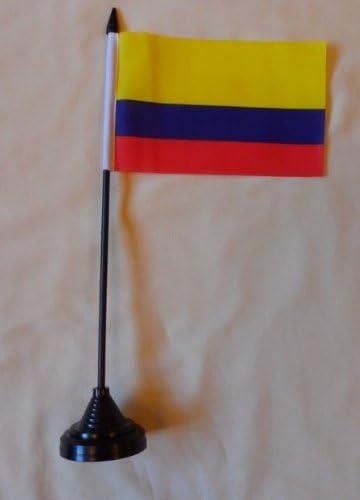 Colombia mesa escritorio Bandera: Amazon.es: Jardín