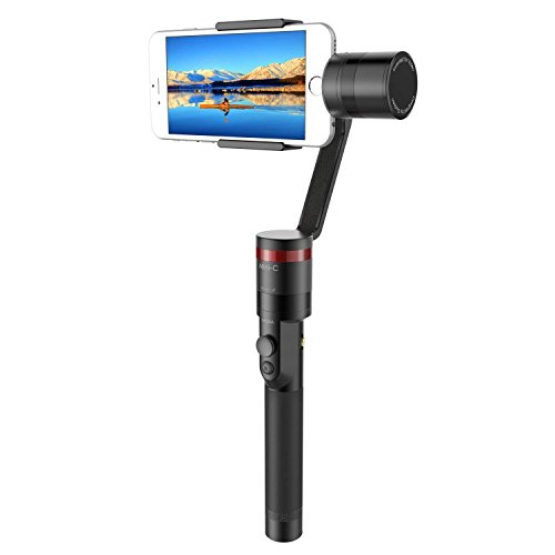 "Elecwave 3-Axis Handheld Gimbal Stabilizer EW-Mini C Multi-Functional Camera Mount Smartphone Within 6"" Screen, Such as iPhone X/8/7/7 Plus/6S/6 Plus More"