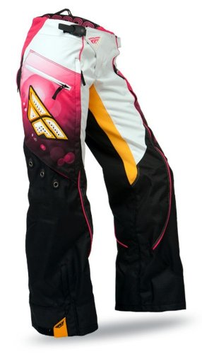 2014 FLY Kinetic Race OverBoot Women's Motocross Pants - Pink - - Kinetic Overboot