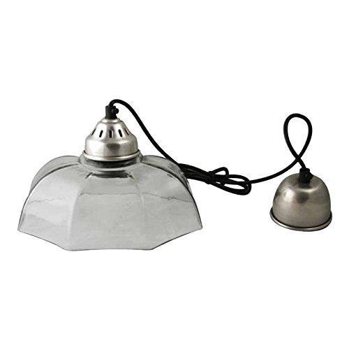 Better & Best Lámpara de techo con pantalla ancha de cristal ...
