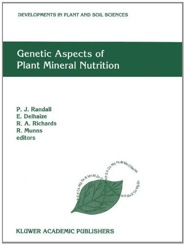 Genetic Aspects of Plant Mineral Nutrition: The Fourth International Symposium on Genetic Aspects of Plant Mineral Nutrition (Developments in Plant and Soil Sciences, 50)