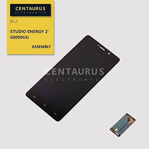 CENTAURUS Screen fit BLU Studio Energy 2, Assembly LCD Display Touch Screen Digitizer Glass Replacement Part BLU Studio Energy 2 LTE S0090UU