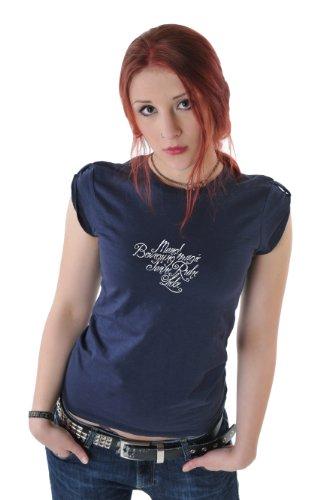 Lyric Marine hombro Cosma Tee de camiseta 3elfen 5qU1wxx
