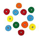 12 Scoop Mini Jugs | Climbing Holds | Mixed Bright Tones
