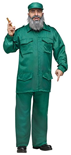 [Fidel Adult Costume (One Size)] (Fidel Castro Costume Halloween)