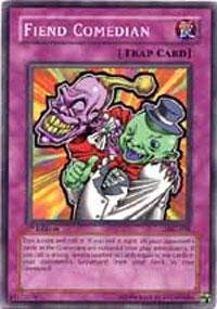 Yu-Gi-Oh! - Fiend Comedian (LOD-098) - Legacy of Darkness - 1st Edition - Common