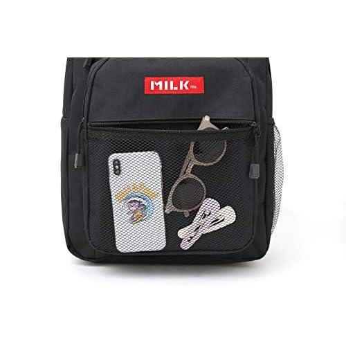 MILKFED. SPECIAL BOOK Big Pocket Backpack RED 付録画像