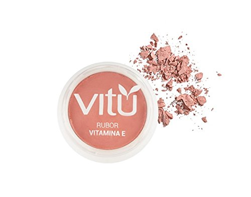 Amazon.com : FACE BLUSHES VITU - RUBOR CON VITAMINA E VITU (MELON) : Beauty
