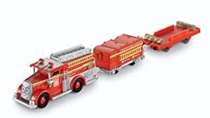 Thomas & Friends Trackmaster Firey Flynn - Locomotora motorizada de juguete