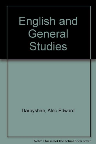 English and General Studies Alec Edward Darbyshire